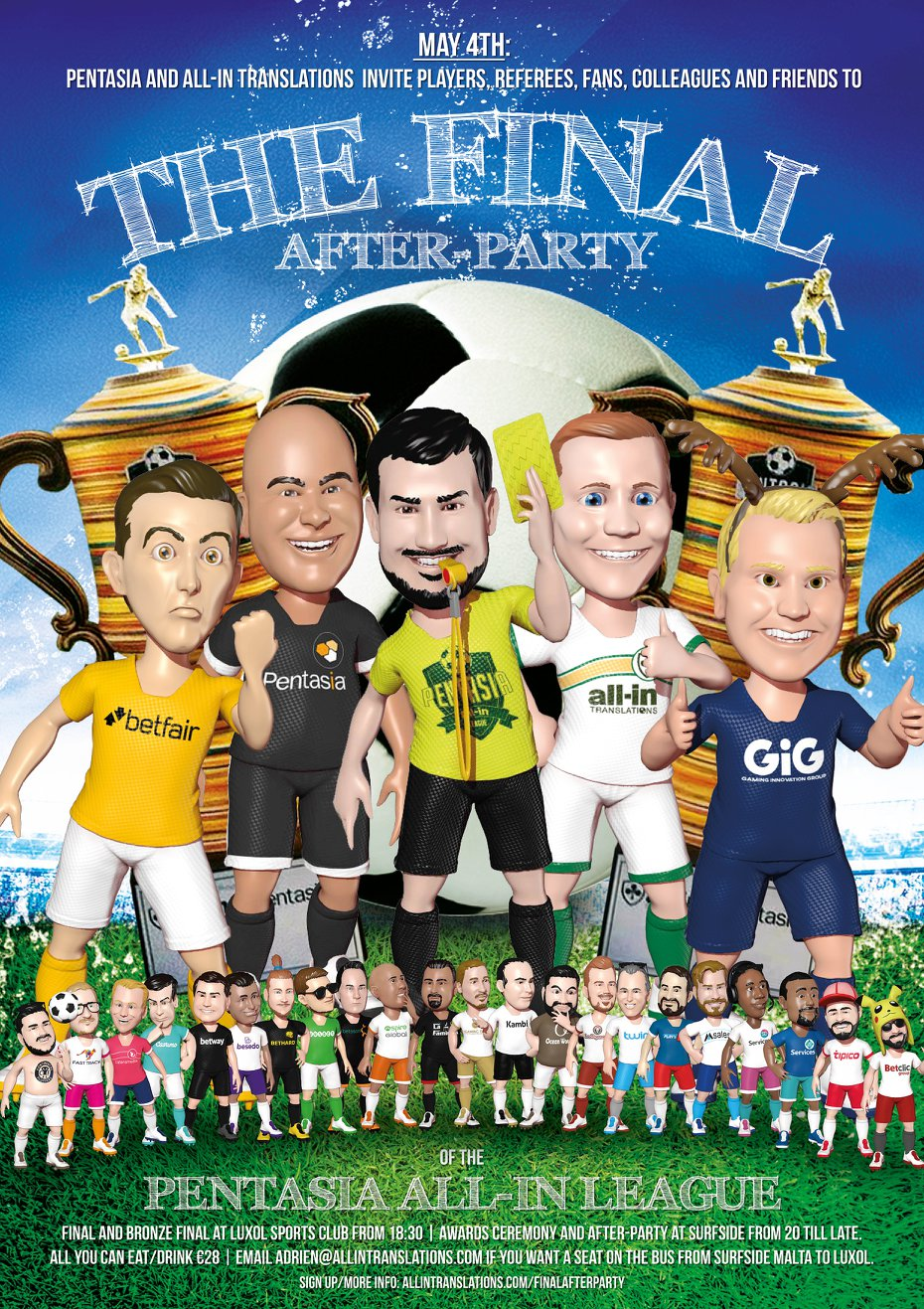 Pentasia All-in Final Party